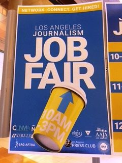 About 250 people attended the Los Angeles Journalism Job Fair, June 17, at SAG-AFTRA. Photo by Senta Scarborough